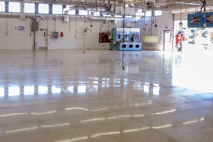 Dịch vụ đánh bóng sàn bê tông Panpacific